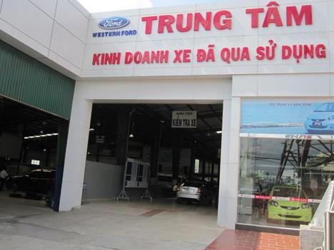 Một trung tâm kinh doanh xe cũ chính hãng. Ảnh: TL