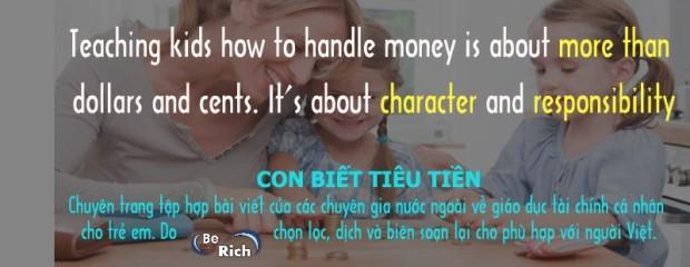 10 cách dạy con tiết kiệm tiền trong từng độ tuổi