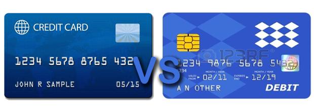 Thẻ tín dụng và thẻ ghi nợ: cái nào tốt hơn?