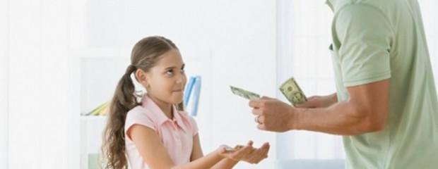 Một số quy tắc khi cho con tiền trợ cấp